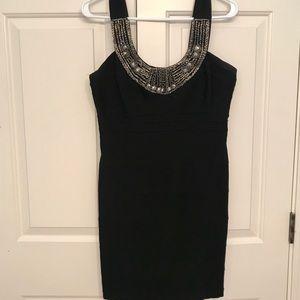 Black Beaded Dress